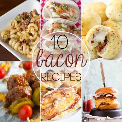 10 Bacon Recipes for Bacon Lovers