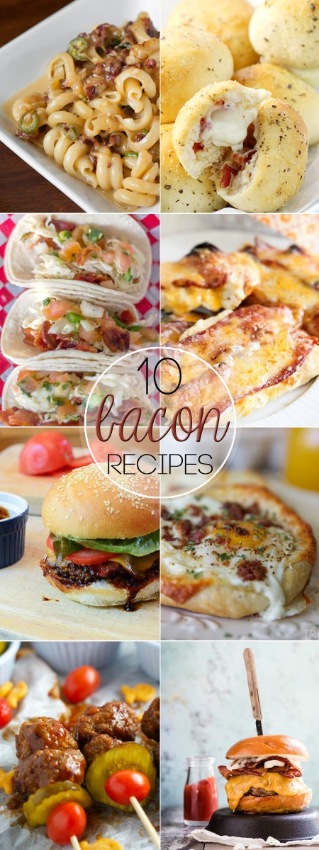 These 10 Must Try Bacon Recipes for Bacon Lovers are on the top of my OH EM GHEE must make list!