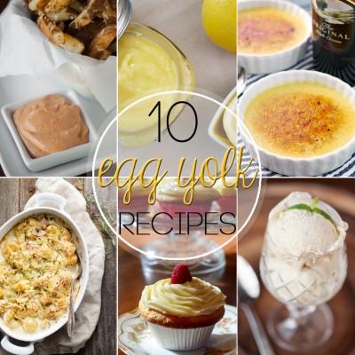 10 Recipes for Egg Yolks