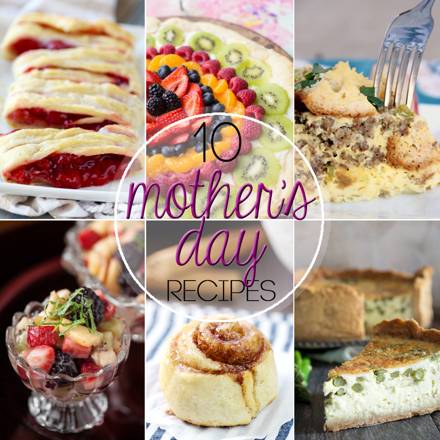 10 Mother's Day Brunch Ideas
