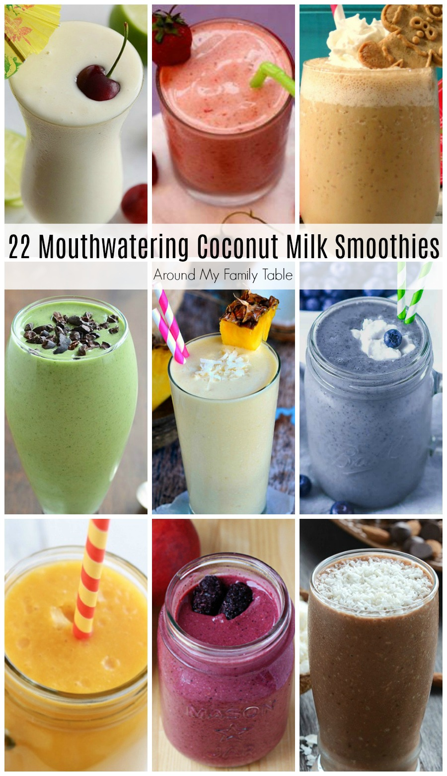 Try swapping coconut milk for dairy in your smoothies for a twist or try one of these Mouthwatering Coconut Milk Smoothies. #smoothies #coconutmilk  via @slingmama