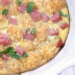 Breakfast Ham Casserole