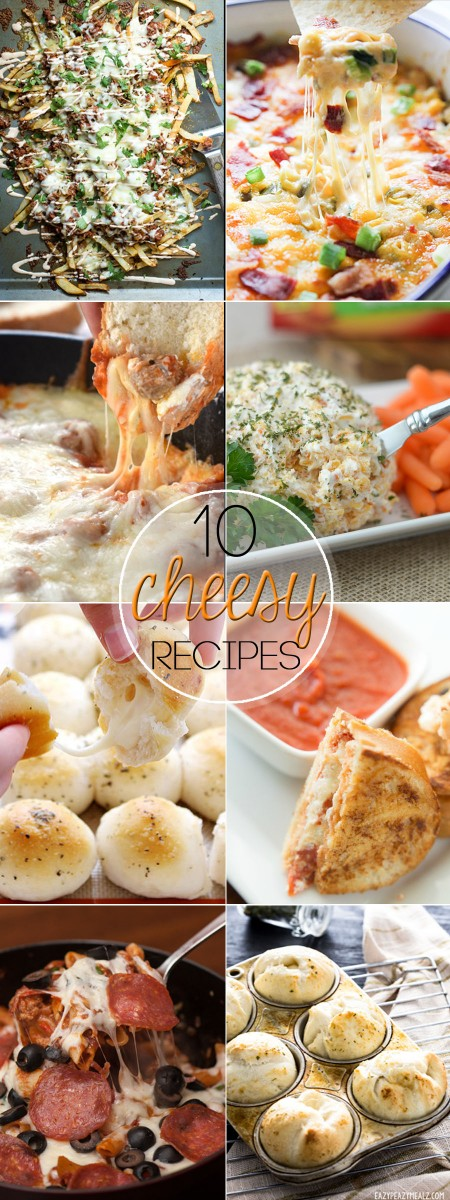 Hey Cheese Lovers....these 10 Delicious Cheese Recipes need to be on your radar!