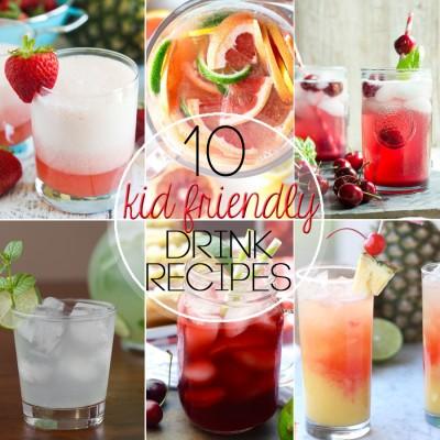 10 Kid-Friendly Summer Drinks