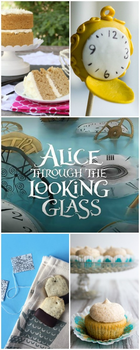 Great ideas for a Alice in Wonderland or Alice Through the Looking Glass party. Or even just a tea party!