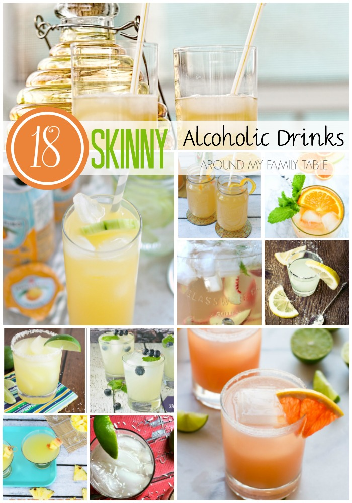 Skinny Alcoholic drinks for summer