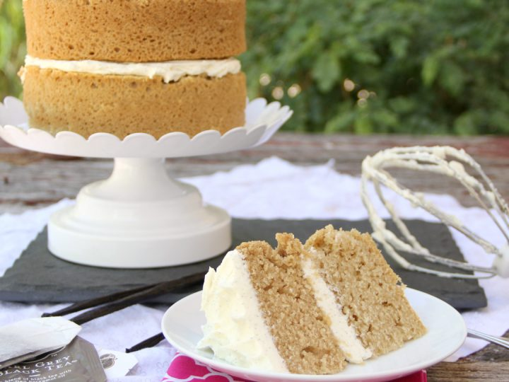 Earl Grey Cake With Vanilla Bean Frosting Around My Family Table