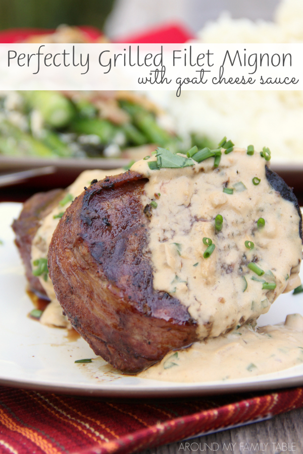 Celebrate any day with a delicious grass-fed filet mignon drizzled with a rich goat cheese sauce for a truly decadent meal.