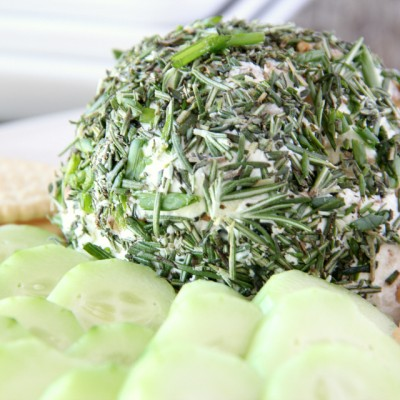 Herb Goat Cheese Ball