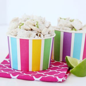 Lime Coconut Puppy Chow