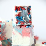 Red White & Blue Fudge