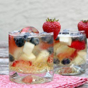 Red White & Blue Sparkling Cider