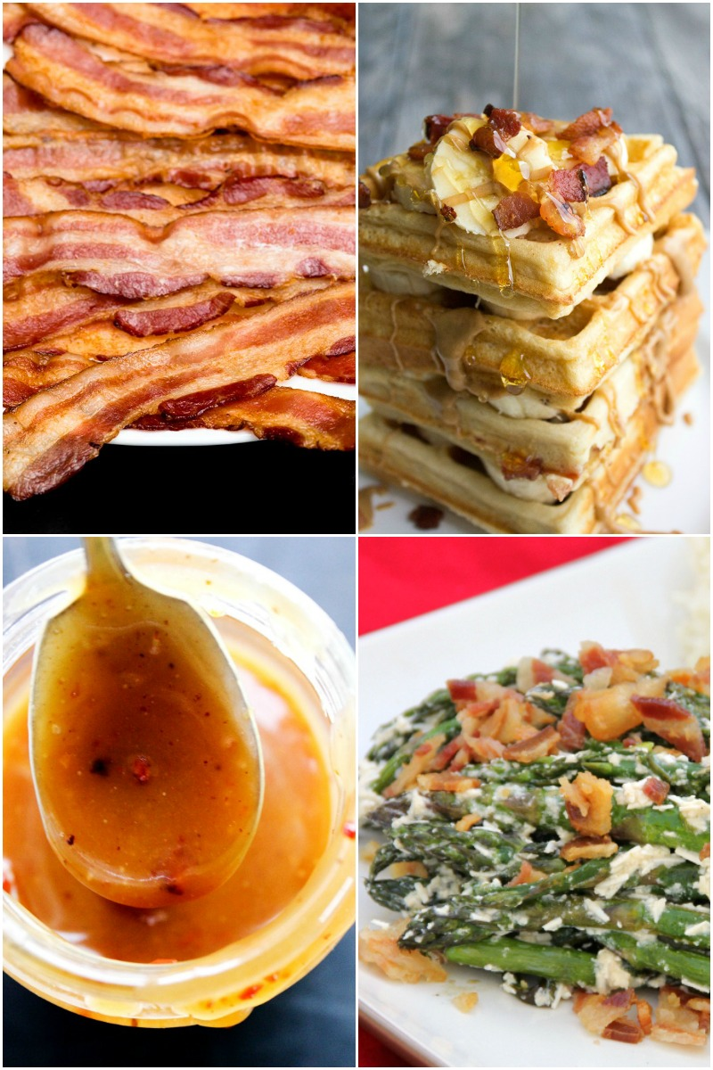 Love Bacon...check out all the bacon month recipes.