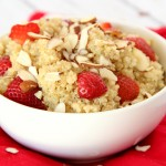 Honey & Strawberry Almond Quinoa