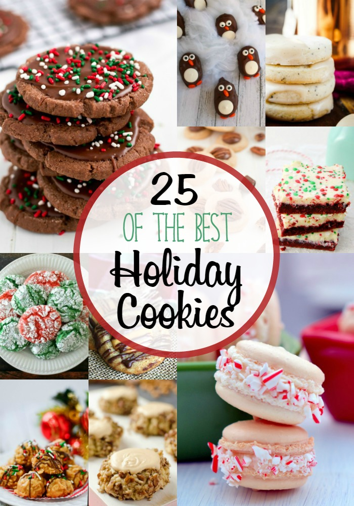This is my list of the Best Holiday Cookies! You have to make these to go on your cookie platter or for your holiday cookie exchange. Trust me!