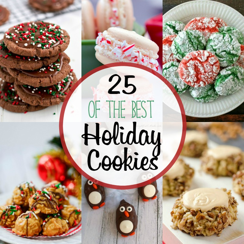 25 Best Holiday Cookies - Around My Family Table