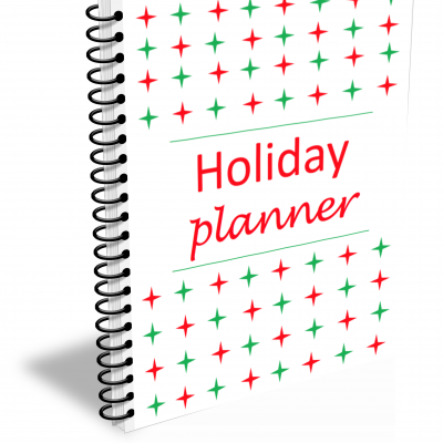 Printable Holiday Planner & Organizer