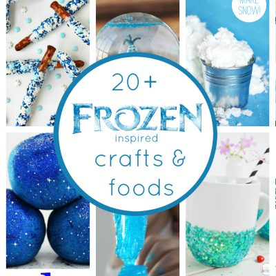 20+ Frozen Inspired Crafts & Foods