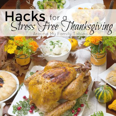 Keep your sanity this Thanksgiving with these tried and true Hacks for a Stress Free Thanksgiving.