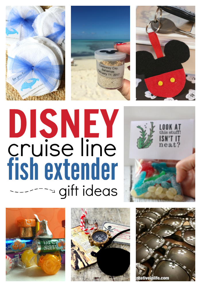 Disney Cruise Line Fish Extender Gift Ideas