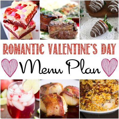 Romantic Valentine's Day Menu