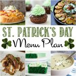 St. Patrick's Day Menu