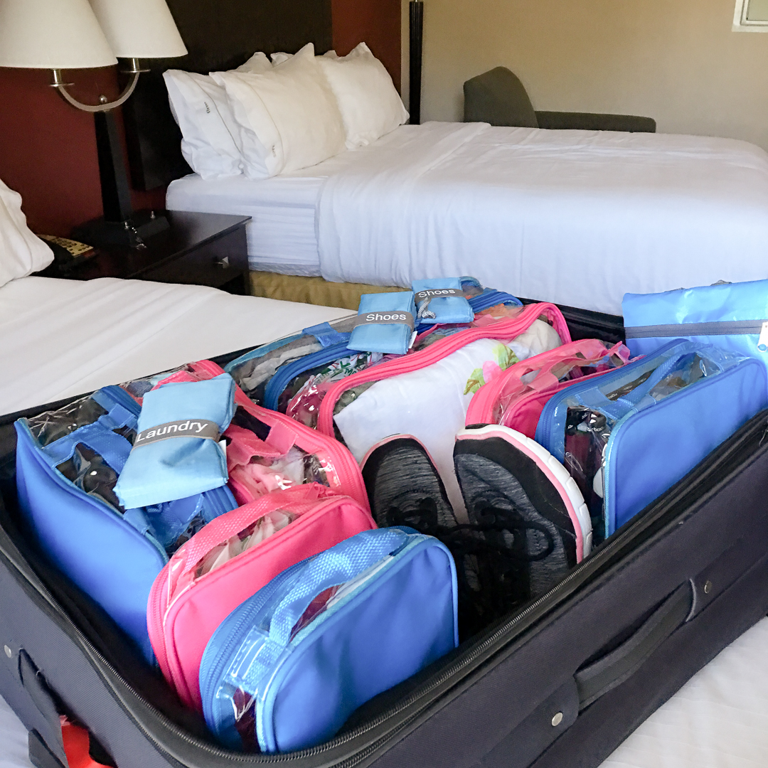 Simple Organized Luggage Tips + A Travel Packing List