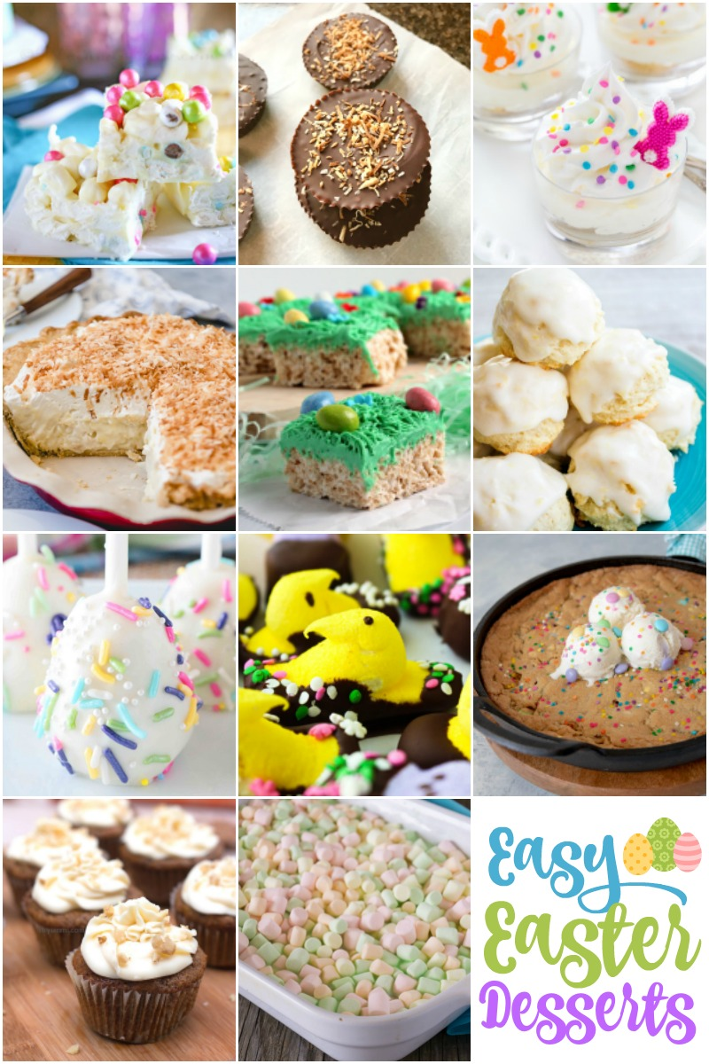 Delicious EASTER Desserts that will make your Easter dinner special!