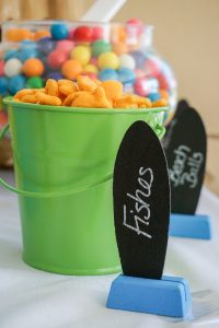 Surf's Up Birthday Party...simple and fun surfing party ideas!