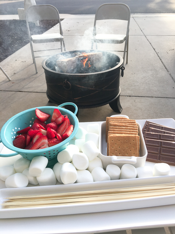 These Chocolate Covered Strawberry S'mores are everything you love about chocolate covered strawberries and everything you love about S'mores combined into one ultimate summertime dessert.