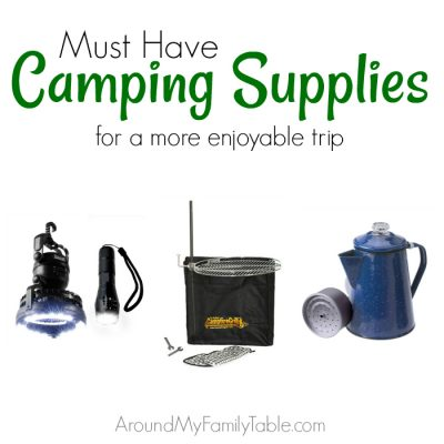 Must Have Camping Supplies