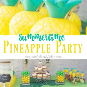 Summertime Pineapple Party