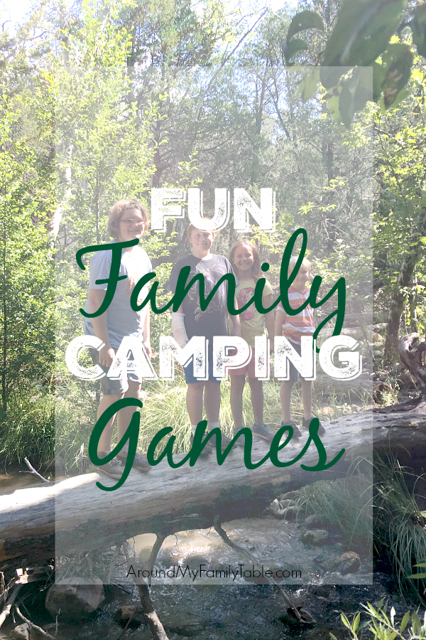 One of the best things about camping is the ability to unplug. Keep it fun for everyone with these fun family camping games.