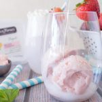 Sparkling Strawberry Floats