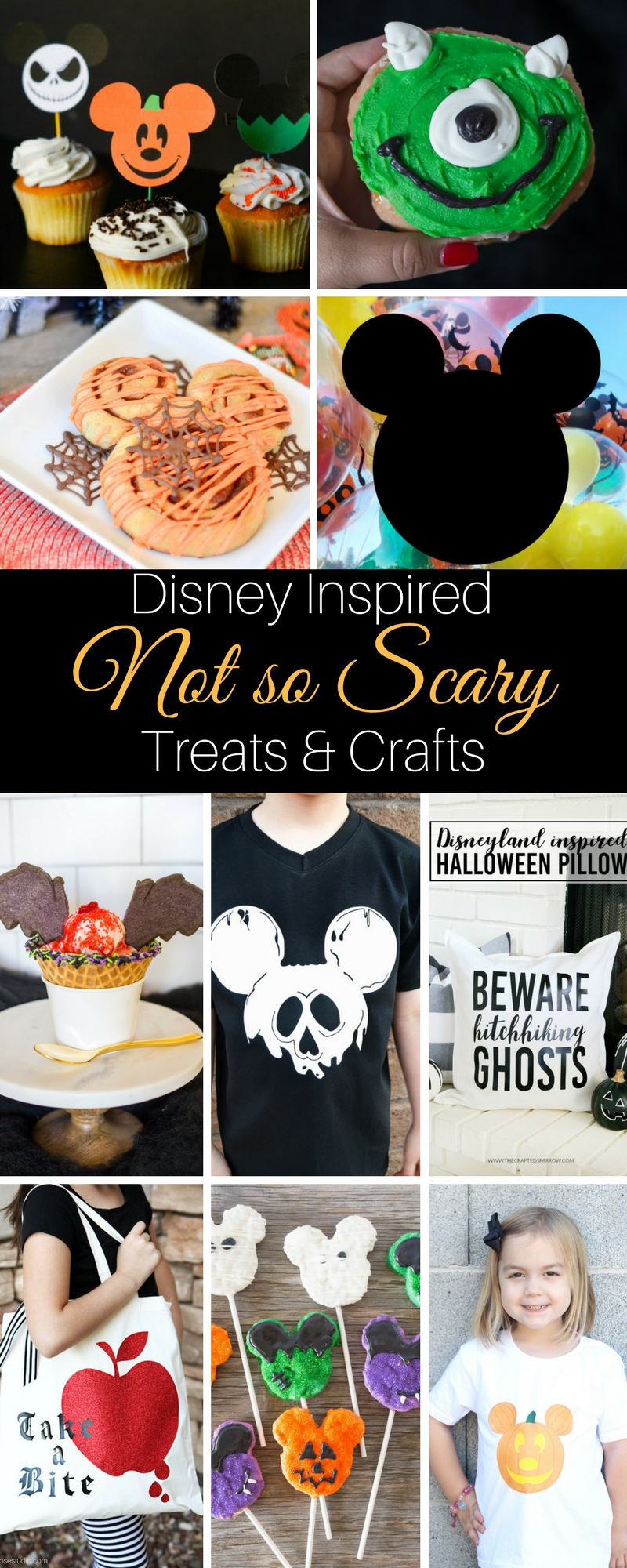 Lovin' these Disney Inspired Not So Scary Treats & Crafts