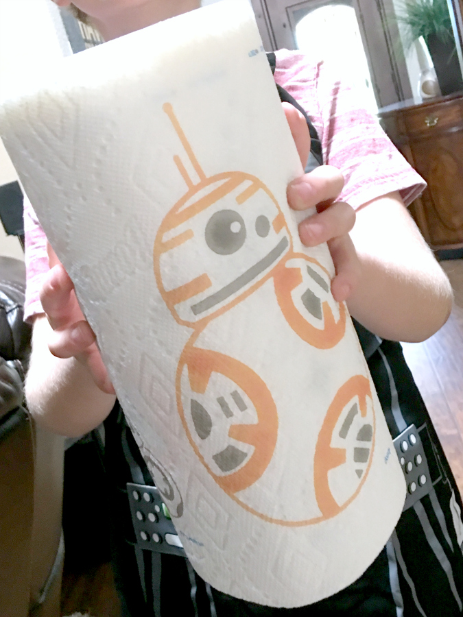 Star Wars Bounty Paper Towels