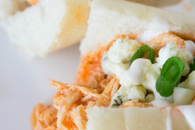 Crock-Pot® Buffalo Chicken Sandwiches