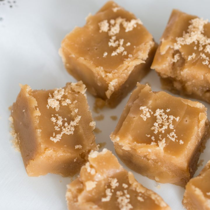 This Brown Sugar Fudge Recipe only needs 4 ingredients, 10 minutes, and a little patience until the first sweet, heavenly bite. It's fudge perfection!