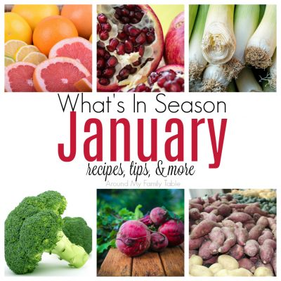 January — What's in Season Guide