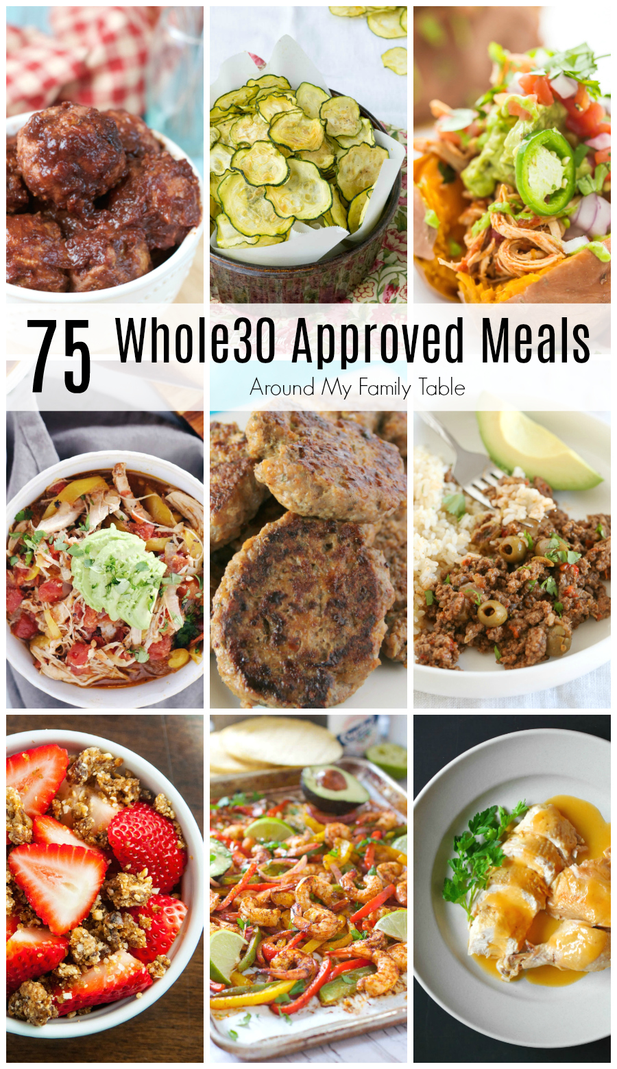One month of whole30 recipes around my family table one month of whole30 recipes is all youll need to successfully complete a round forumfinder Images