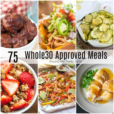 One Month of Whole30 Recipes
