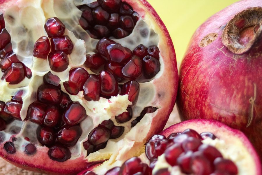 January -- What's in Season Guide: Pomegranates