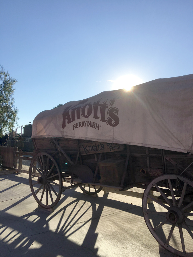 Thinking about going to Knott's Berry Farm in California? Find out how to visit Knott's Berry Farm in one day!   It's a fun change from the mouse and close enough to hit it for a day while you're in town. #knottsberryfarm #snoopy #travel #southerncalifornia