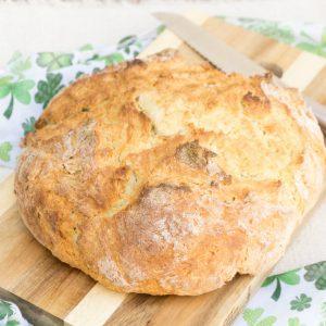 Simple Irish Soda Bread & St. Patrick's Day Dinner