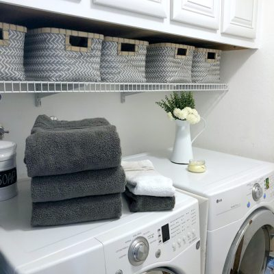 Simplified Laundry System for Busy Families