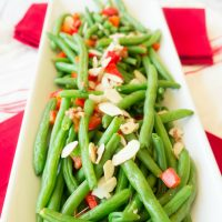 Green Beans with Brown Butter and Almonds