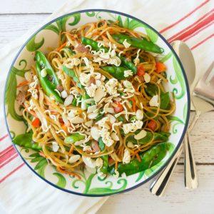 Spicy Asian Pasta Salad