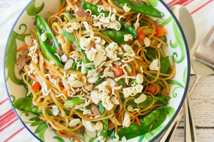 Spicy Asian Pasta Salad