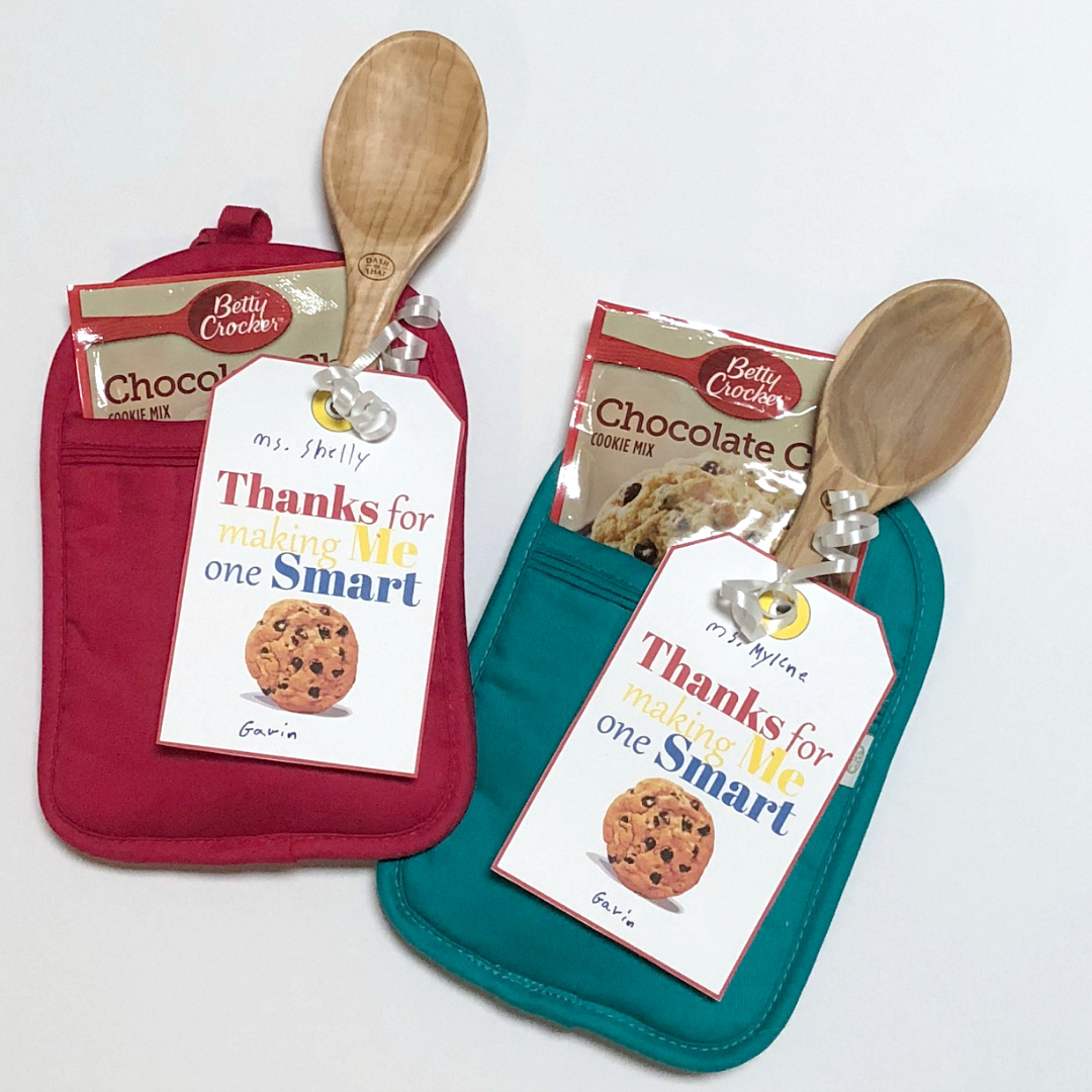 image relating to Thanks for Making Me One Smart Cookie Free Printable referred to as A person Good Cookie Instructor Appreciation Present - Above My