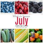 July–What's In Season Guide